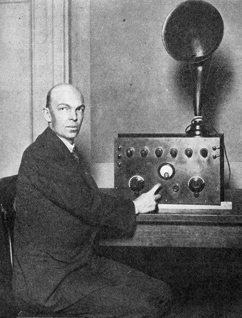 E H Armstrong Radio May 1924