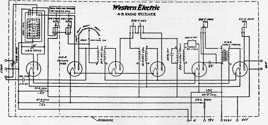 western electric superheterodyne