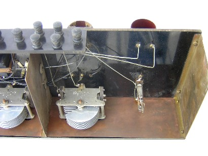 Western Electric front end compartment