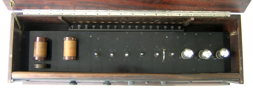 Western Electric top chassis view